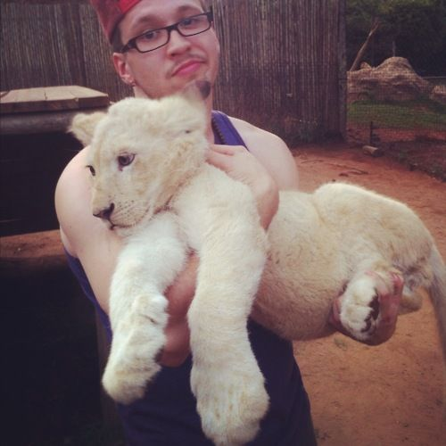 Andy Mineo | yeah, im holding a lion.