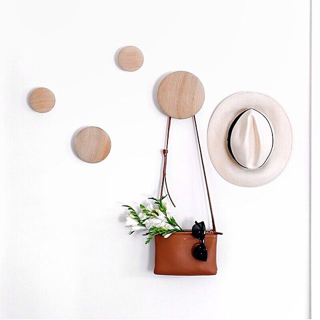 This week's muutogram comes from @mrpaddingtonbear. A collection of summer essentials hanging ready to grab on your way out from the the DOTS coat hooks #muuto #muutodesign #newnordic #newperspective #scandinaviandesign