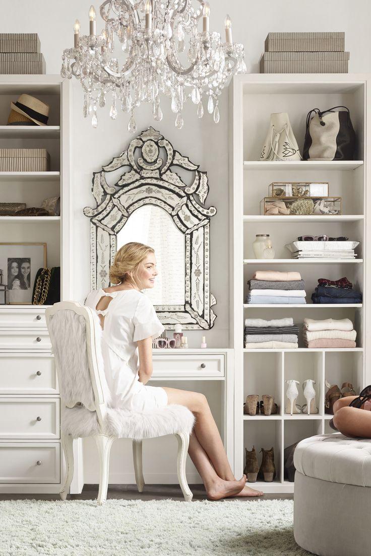 cool as a walkin closet  Restoration Hardware Teen Line - Decor | Teen Vogue