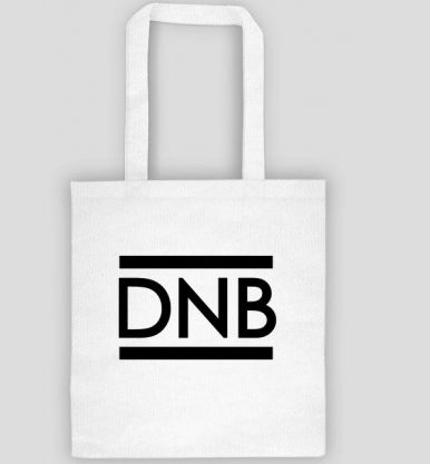 Torebka bawełniana DNB od http://tomishop.pl