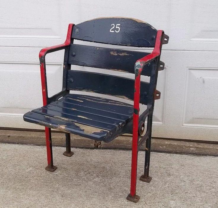 Stadium seat chair Fenway Park seat chair bench Boston Red