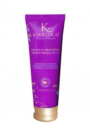 KARORA Gradual Bronzing Moisturiser in Easy Squeeze Tube