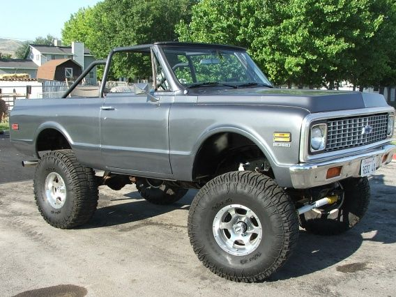 9 best trucks images on pinterest cars custom trucks and lifted gorgeous blazer id like my 1977 k30 in a similar color fandeluxe Images
