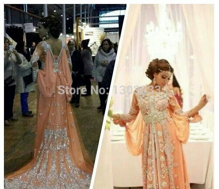 Find More Evening Dresses Information about New Arrival VERY FANCY KAFTANS/ abaya jalabiya  Orange DUBAI Ladies Long Sleeve Embroidery  Evening Dress ON SALE 2015,High Quality Evening Dresses from party  Queen Fashion Store on Aliexpress.com