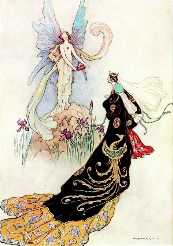 Fairy Book - Warwick Goble #illustration #vintage #warwickgoble: