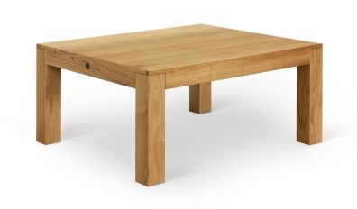 ROBO - www.miloni.pl/en MILONI: wooden table, oak table, natural wood table, table design, furniture design, modern table