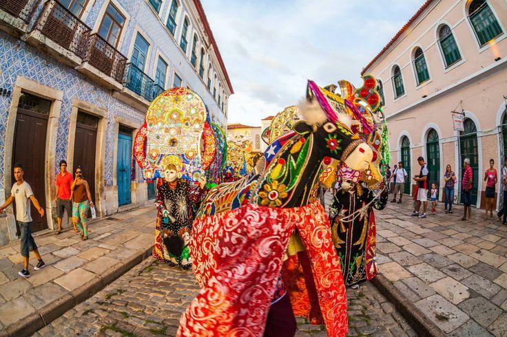São Luís celebra 402 anos com agenda cultural. Cidade terá 10 dias de música e dança para comemorar mais de quatro séculos de  história. http://bit.ly/1x5Jly0  Foto: Embratur