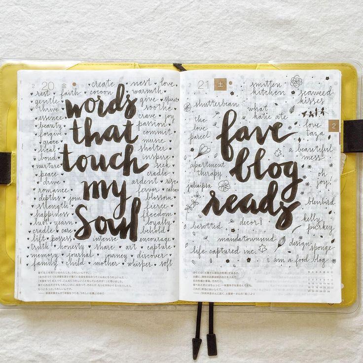 The Journal Diaries- Gert's Hobonichi (Seaweed Kisses)