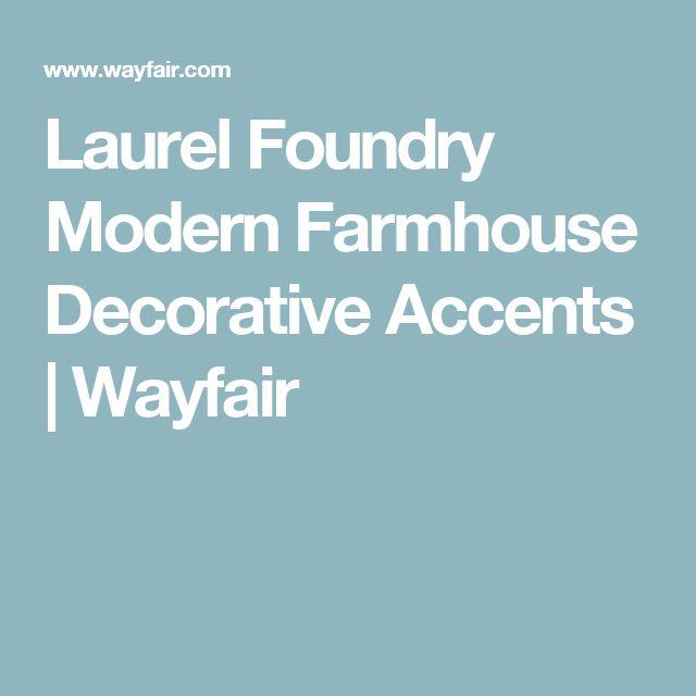 Laurel Foundry Modern Farmhouse Decorative Accents | Wayfair