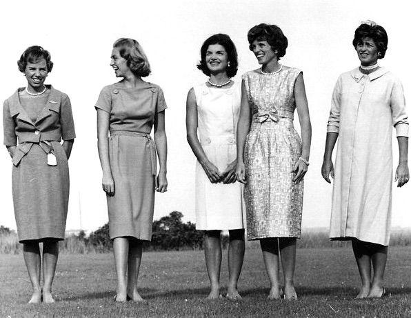The Kennedy Women. Ethel, Joan, Jackie, Eunice, and Jean.