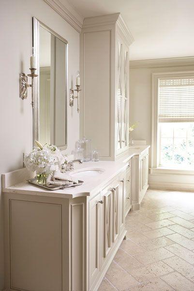 the perfect bathroom // LB Schofield II: Linda McDougald Design | Postcard from Paris Home
