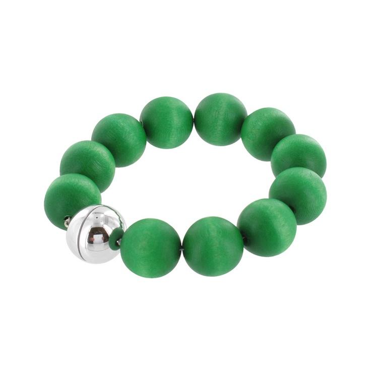 Aarikka - Bracelets : Ilmatar bracelet, green