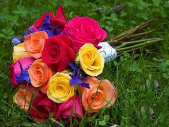 Bouquet Rainbow -- Fotografía: Lisa Foster