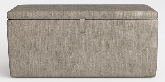 Buy Portofino Storage Ottoman Ottoman Classic Velvet French Grey from the Next UK online shop