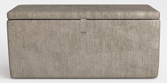 Buy Portofino Storage Ottoman Ottoman Classic Velvet French Grey from the Next UK online shop