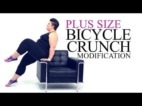 Squat Exercise Modification - plus size - workout - episode 2 - YouTube