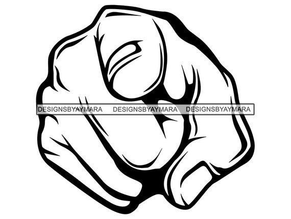 Hand Point You Finger Index Arm Fist Pointing Punch Knuckle Self Forward Direction Design Symbol Pn Pointing Hand Anatomy Sketches Pointing Fingers