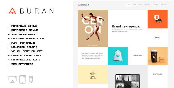 BURAN - Smart Portfolio and Business Theme Download