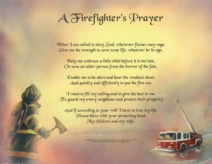 Firefighters prayer | Tattoos | Pinterest | Firefighters and Prayer