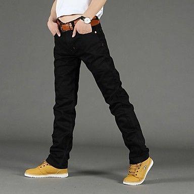 Menn Casual/Arbejde Pure Jeans Bukser ( Denimstoff )(2272806) – NOK kr. 146