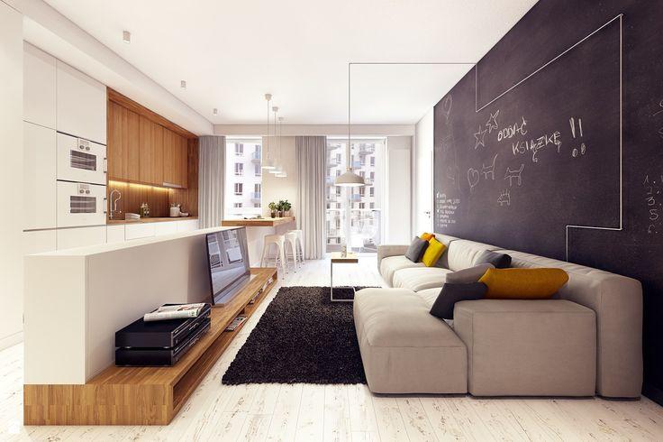 HOME IS IN THE AIR - zdjęcie od Plasterlina - Salon - Styl Nowoczesny - Plasterlina