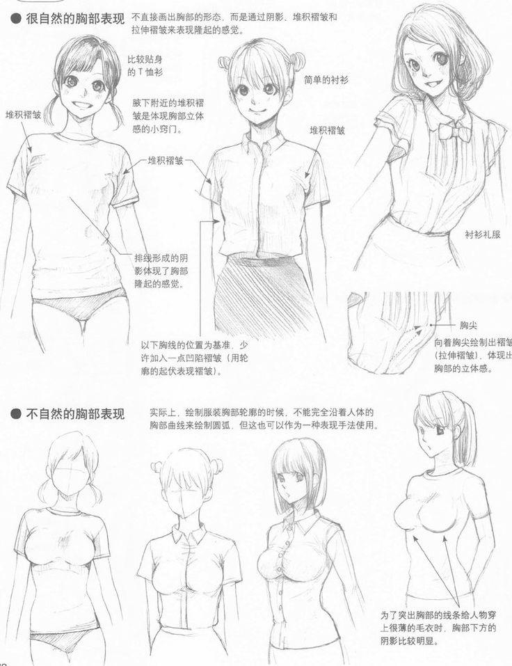 Clothing, Folds and Movement Sheet 5...via deviantart