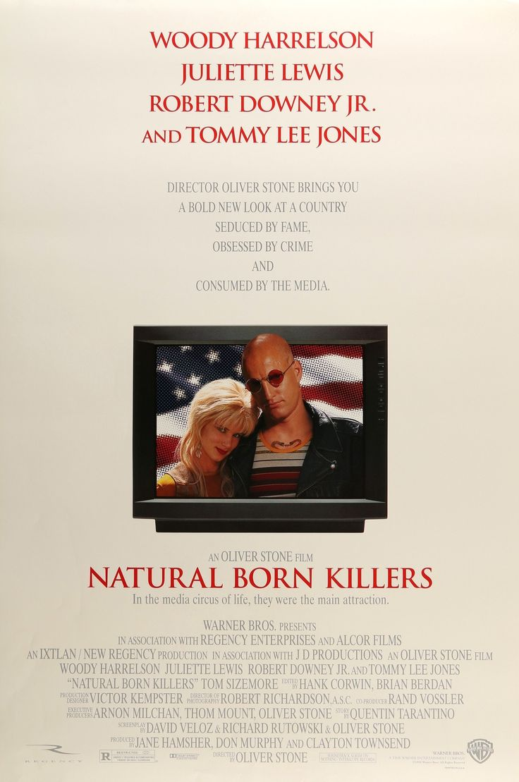 "Natural Born Killers (1994) Vintage DS One-Sheet Poster - 27"" x 40"""