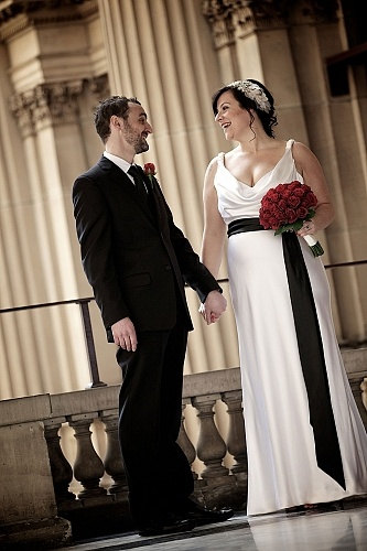 KAREN WILLIS HOLMES - Real Bride - Wedding dress - Tiffany