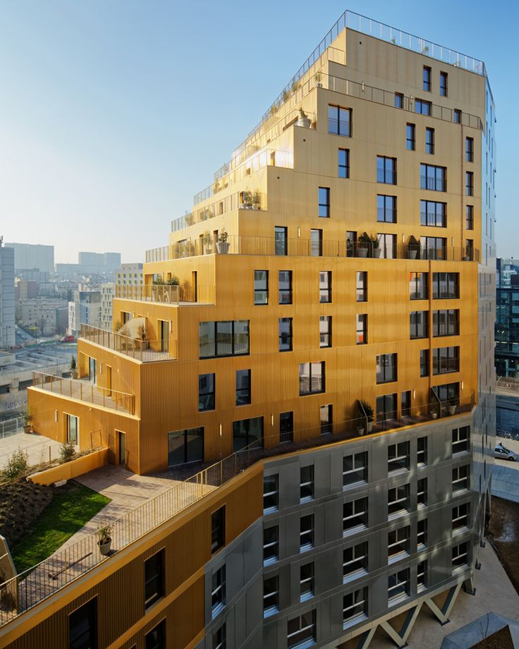 hamonic masson comte vollenweider housing in paris designboom
