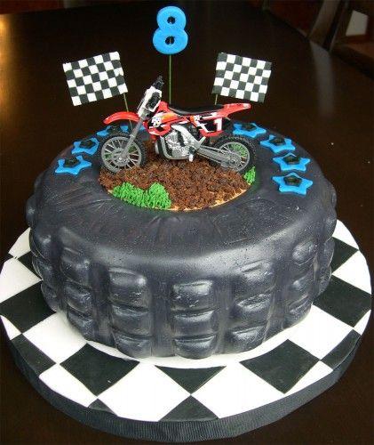 Birthday Cake Ideas Motorcycle : 25+ best Motorcycle birthday cakes ideas on Pinterest ...
