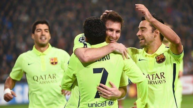 RADIO CORAZÓN  DEPORTIVO: UEFA CHAMPIONS LEGUE{FC BARCELONA}: MESSI COLOCA A...