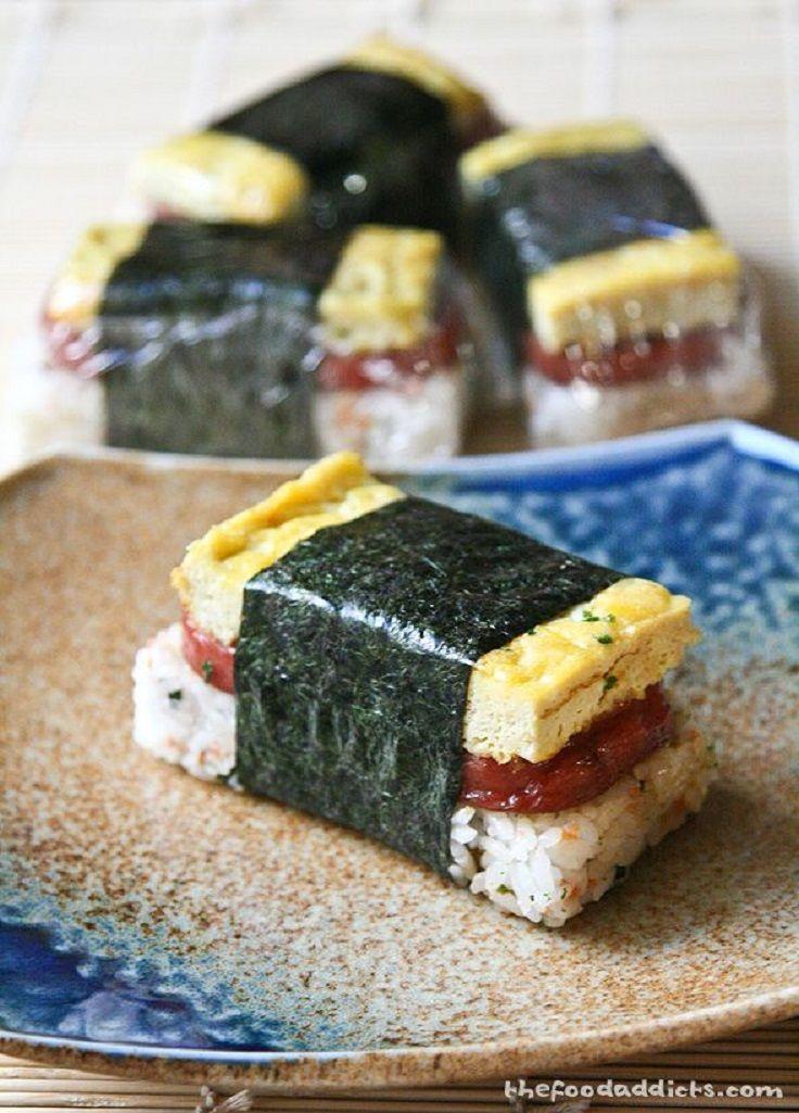 how to make musubi rice