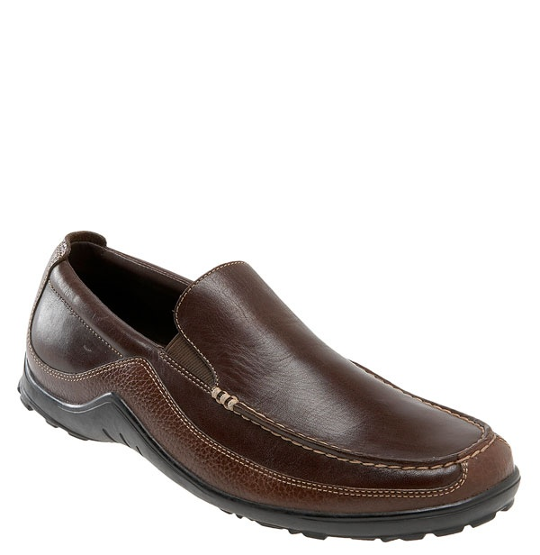 { Cole Haan Tucker Venetian Loafer } Q : I am looking for men's shoes  options that are somewhere between Chuck Taylors and dress shoes .