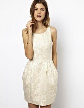 A Wear Jacquard Tulip Dress