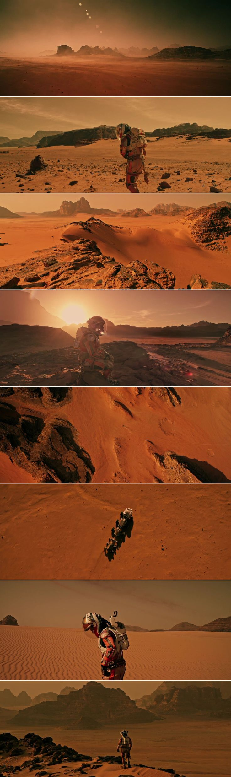The Martian (2015) - Cinematography by Dariusz Wolski | Directed by Ridley Scott