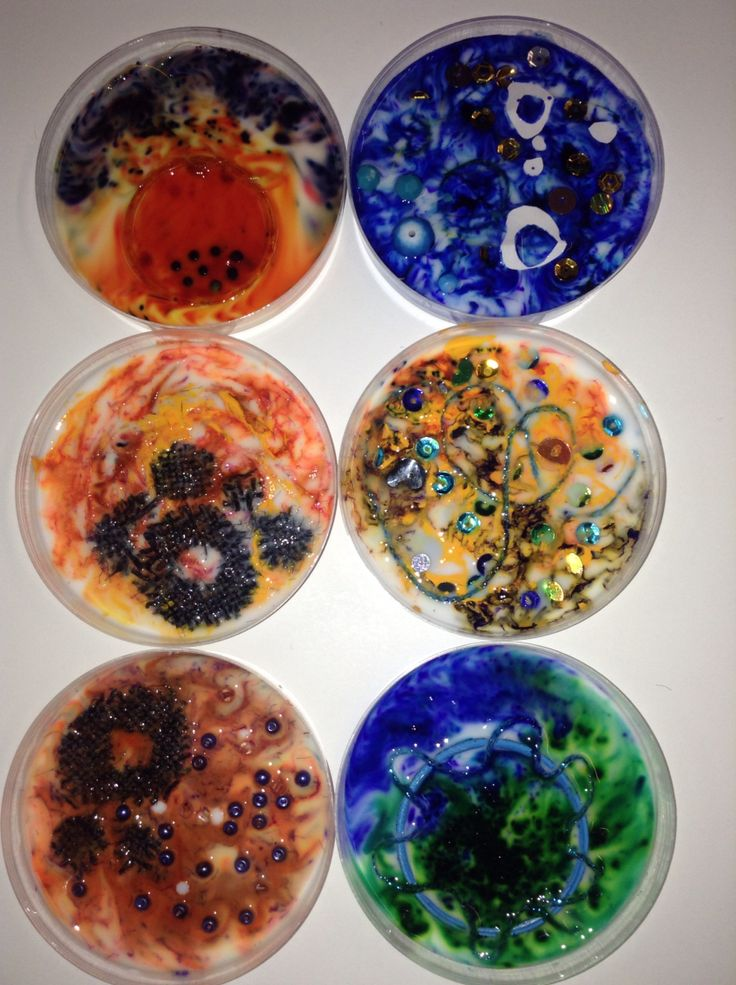 For my Alevel textiles! Petri dishes with PVA glue & ink. Added beads, sequins and embroidery thread! Plant cells under a microscope inspired