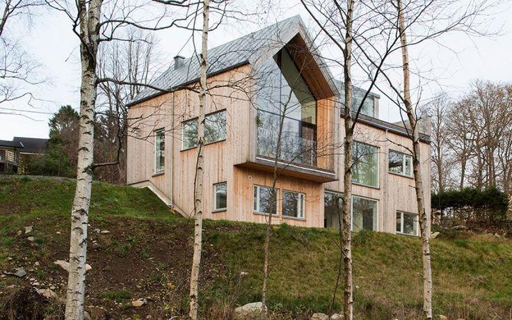 Villa bond par kjellgren kaminsky architecture gothenburg su de maison su doise - Toit vitre maison ...