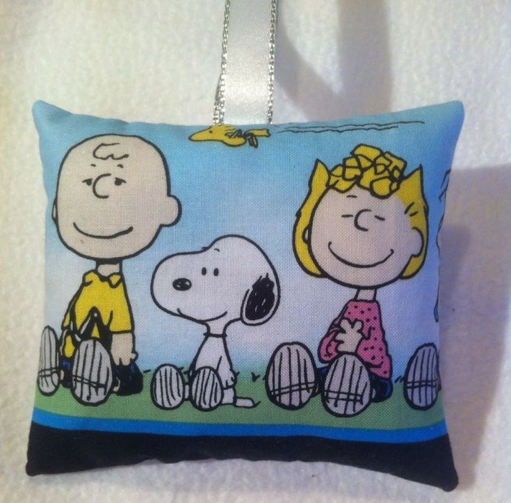 Snoopy Gift / Snoopy And Charlie Brown Fabric Lavender Bag - Handmade in Home, Furniture & DIY, Home Decor, Other Home Decor | eBay