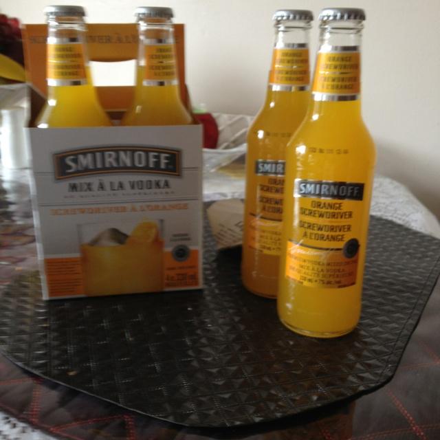 Mixed drink already made nucka