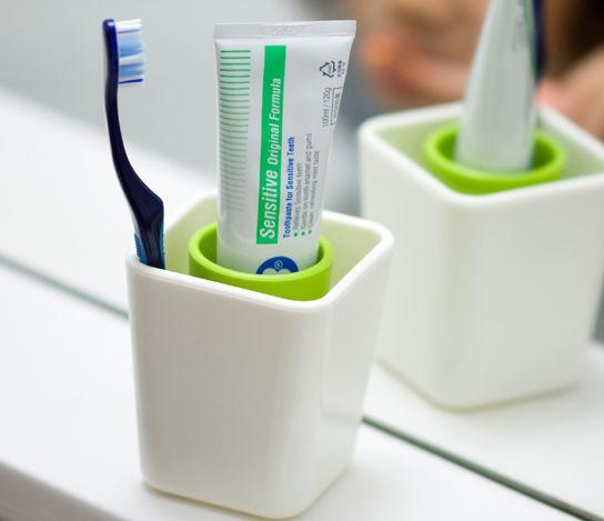 洗面台をおしゃれに変身♪素敵な「歯ブラシスタンド」を集めたよ | キナリノ