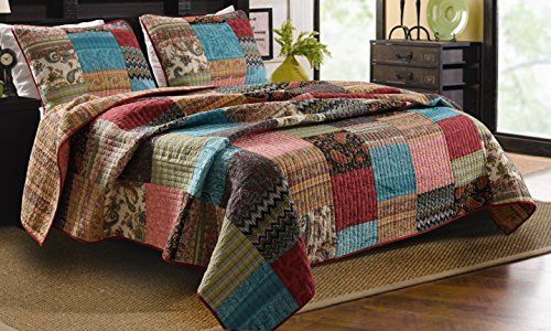 Greenland Home 3-Piece New Bohemian Quilt Set, King Greenland Home http://smile.amazon.com/dp/B00MXTUCRM/ref=cm_sw_r_pi_dp_.jIZub07GYHRK