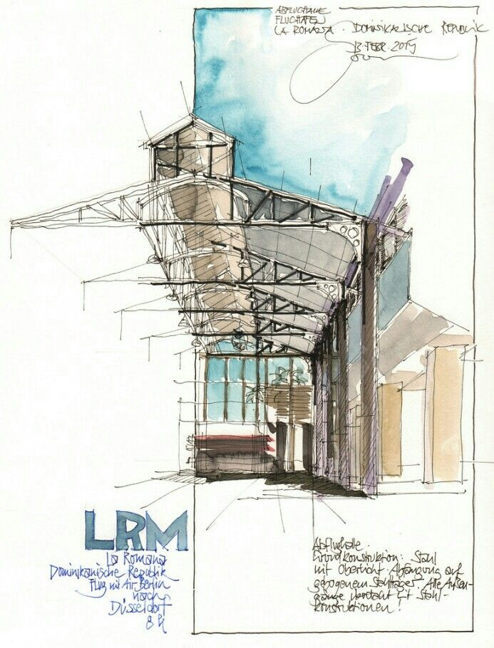 17 best images about sketches on pinterest for Architecture technique