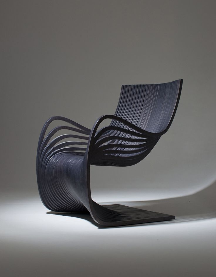 Silla Pipo By Piegatto   This Nice Chair With Its Soft Shape Is Called  Silla Pipo And Is Made Only Of Wooden Layers. Created By Piegatto.