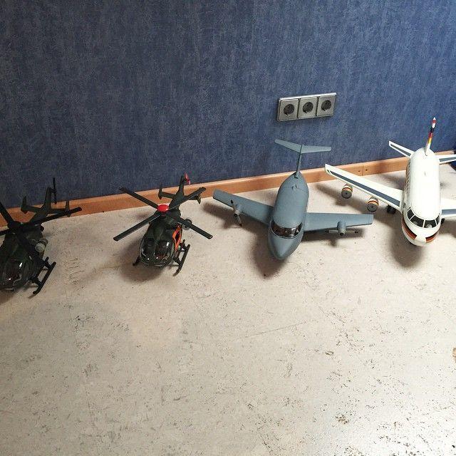 Meine #Bundeswehr Flugzeuge und Hubschrauber #SAR71 #Playmobil #bjoernsklickys