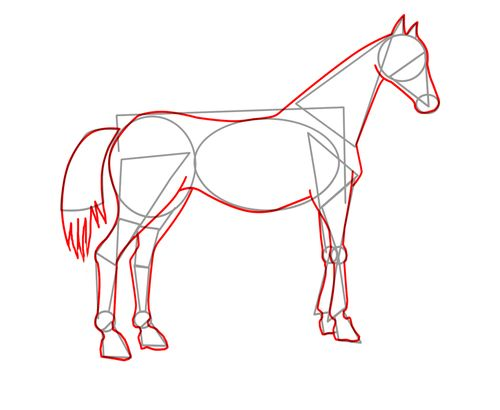 Best 25 dessin cheval ideas on pinterest animaux de bande dessin e pour dessiner dessiner un - Dessiner cheval ...