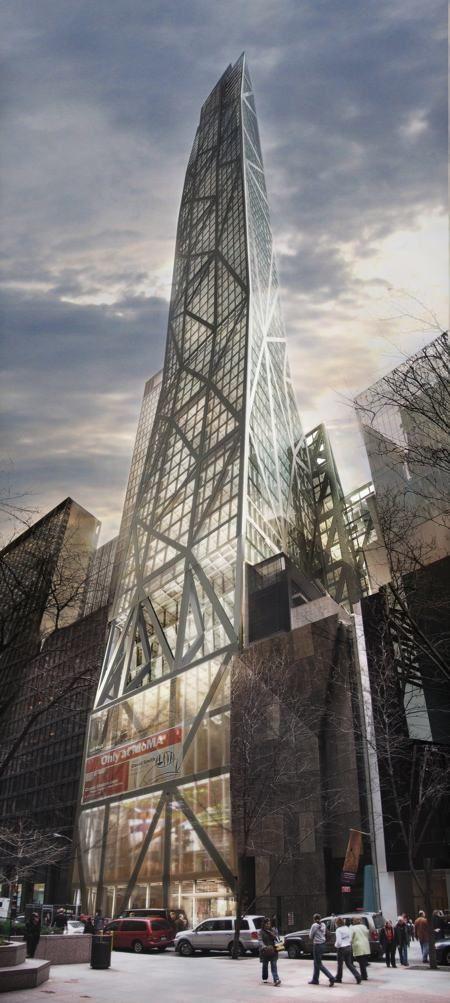 Torre para el museo MOMA propuesta por Jean Nouvel | La entrada al mundo de la arquitectura