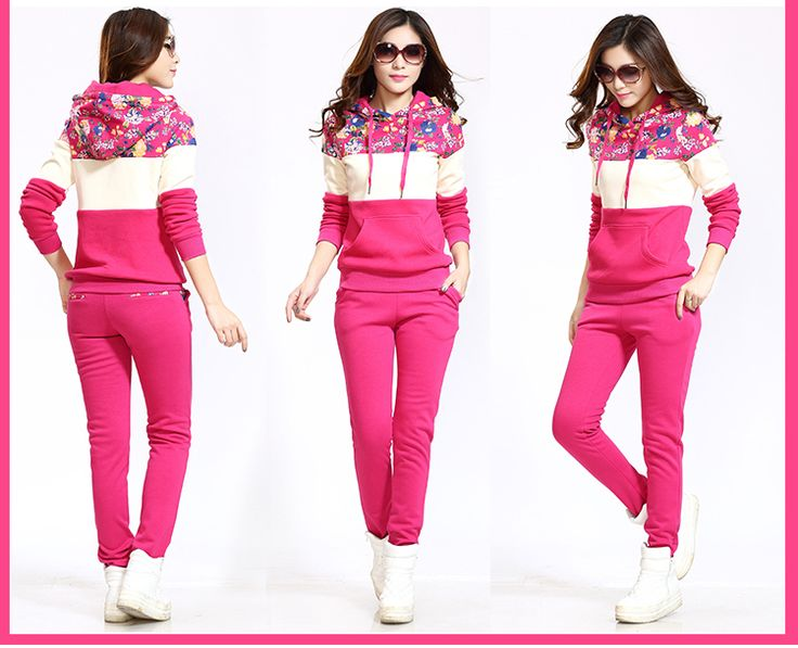 Buy 2014 Hooded Fashion Casual Active Tracksuits Foral Print Patch Sweatsuits Women Slim Pants Moleton Female Sportswear Suits Set from Reliable Hoodies & Sweatshirts suppliers on Lossgaga Co,.LTD