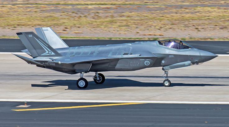 https://flic.kr/p/PDZ7rf | Royal Australian Air Force (RAAF) Lockheed F-35A Lightning II | Luke AFB, Arizona