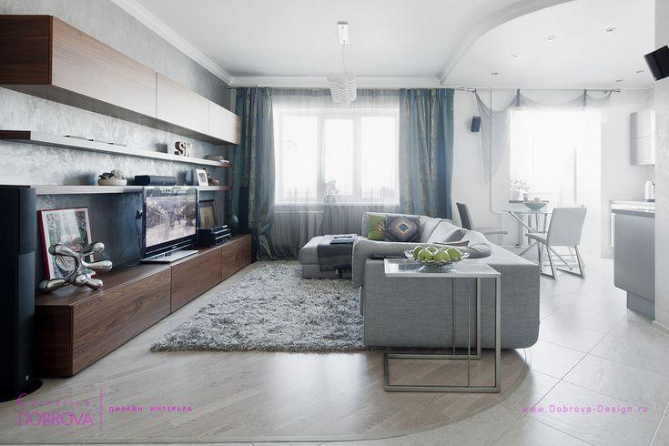 Дизайн студии. Частная квартира. Дизайнер Екатерина Ушакова