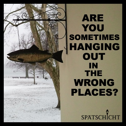 We have what you need. Next Spätschicht: Thursday, March 21, 2013. Register now!  http://spaetschicht-event.com/check-in/